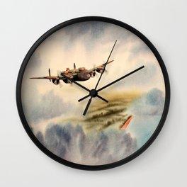Avro Lancaster Aircraft Wall Clock