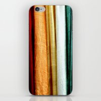 striped iPhone & iPod Skins featuring Striped by Anne Seltmann