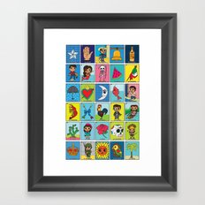 LOTERIA! Framed Art Print