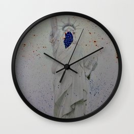 In trying times Wall Clock