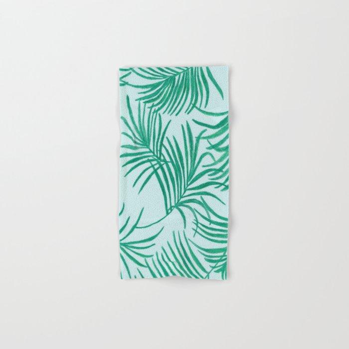 Green Leaves Of Home Hand & Bath Towel