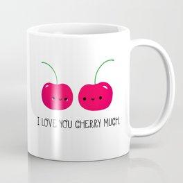 I Love You Cherry Much Coffee Mug
