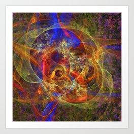 Azifractalus Art Print