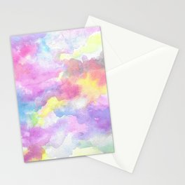 Pastel Watercolor Stationery Cards