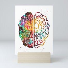 Artificial intelligence Mini Art Print