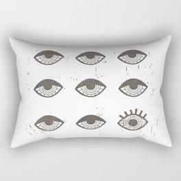 Eye Opener Rectangular Pillow