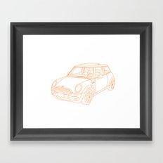 My Mini Cooper Framed Art Print