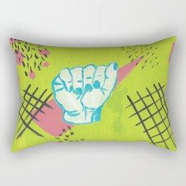 American Sign Language A Rectangular Pillow