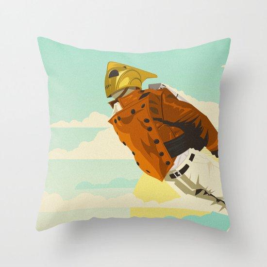 Like A Hood Ornament Throw Pillow