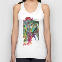archan nair Tank Tops featuring Mind Mirror by Archan Nair
