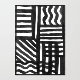 Ink Pattern Canvas Print