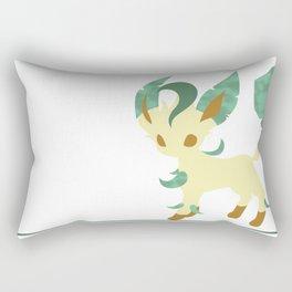 Leafeon; Forest  Rectangular Pillow