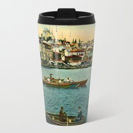 Vintage Egypt, port Said Commerce Street Travel Mug
