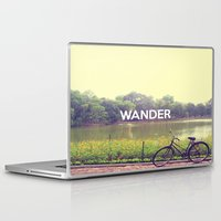 wander Laptop & iPad Skins featuring Wander by bajitamaria