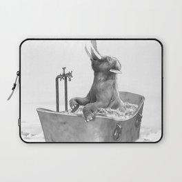 BABY ELEPHANT BATH Laptop Sleeve