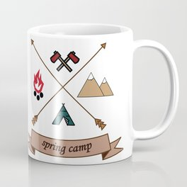 Camping Spring Camp adventure design Coffee Mug