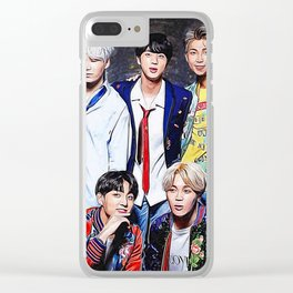 BTS - Bangtan Boys Clear iPhone Case
