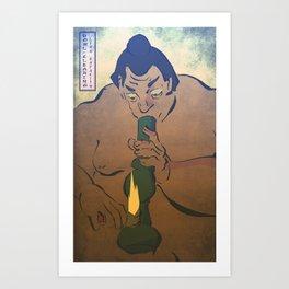 Bake Your Sumo Art Print