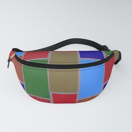 Colored Tiles Version 3 Fanny Pack
