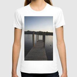 derwentwater jetty sunset T-shirt