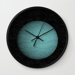 Lonely Uranus Wall Clock