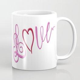 Love Text Coffee Mug