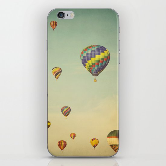 Floating in Space iPhone & iPod Skin