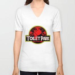Toilet Park Unisex V-Neck