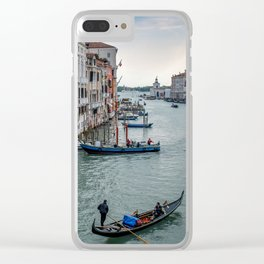 Gondola on the Grand Canal Clear iPhone Case