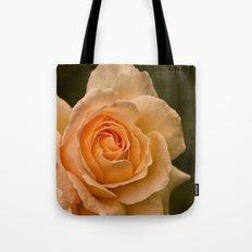 Dew Kissed Rose Floral Tote Bag
