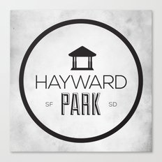 Hayward Park Canvas Print