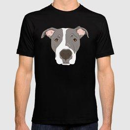 Pitbull Portrait T-shirt