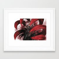 tokyo ghoul Framed Art Prints featuring tokyo ghoul by keiden
