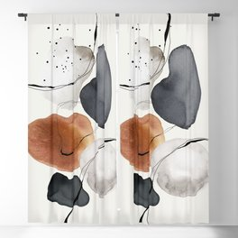 Abstract World Blackout Curtain