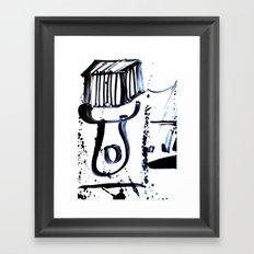 Brush Framed Art Print
