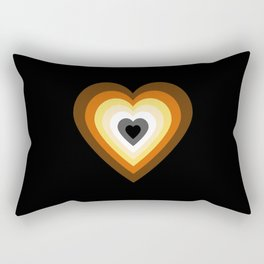 Bear Heart Rectangular Pillow