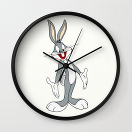 Bugs Bunny rabbit Wall Clock
