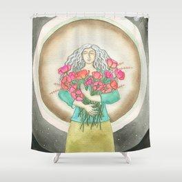 Flower Love Shower Curtain