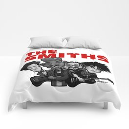 The Smiths (white version) Comforters