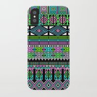 aztec iPhone & iPod Cases featuring Aztec by Fimbis