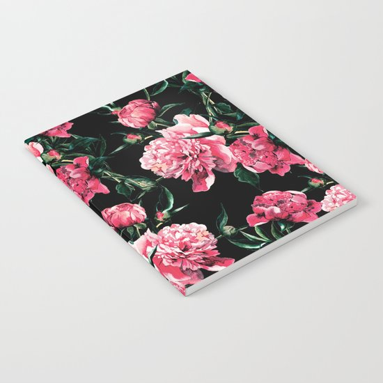 Peonies Notebook