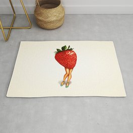 Strawberry Girl Rug