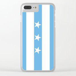 Guayaquil city flag Clear iPhone Case