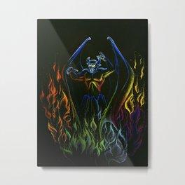 A Night on Bald Mountain Metal Print