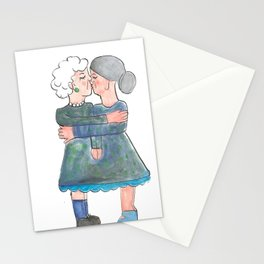 My grandma's are lesbians Stationery Cards