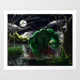 Hulk mad! Art Print