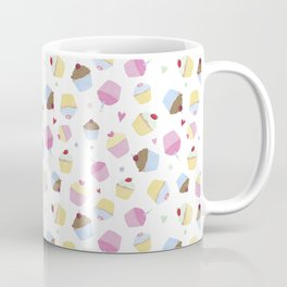 Sweet White Cupcakes Coffee Mug