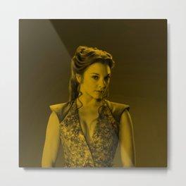 Natalie Dormer Metal Print