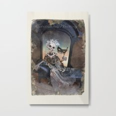 Rucus Studio Catrina In Waiting Metal Print