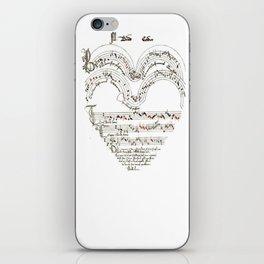 Chanson L'Amour Vintage Romance iPhone Skin